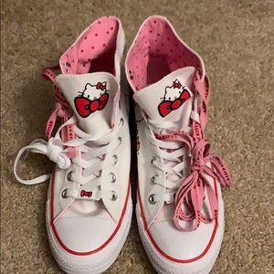 Hello Kitty Women's Converse Size 9
